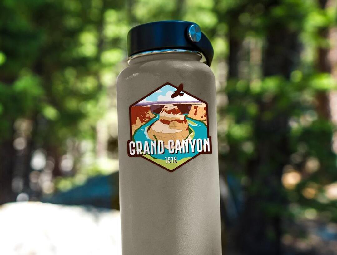 Grand Canyon National Park (Horseshoe Bend) Sticker