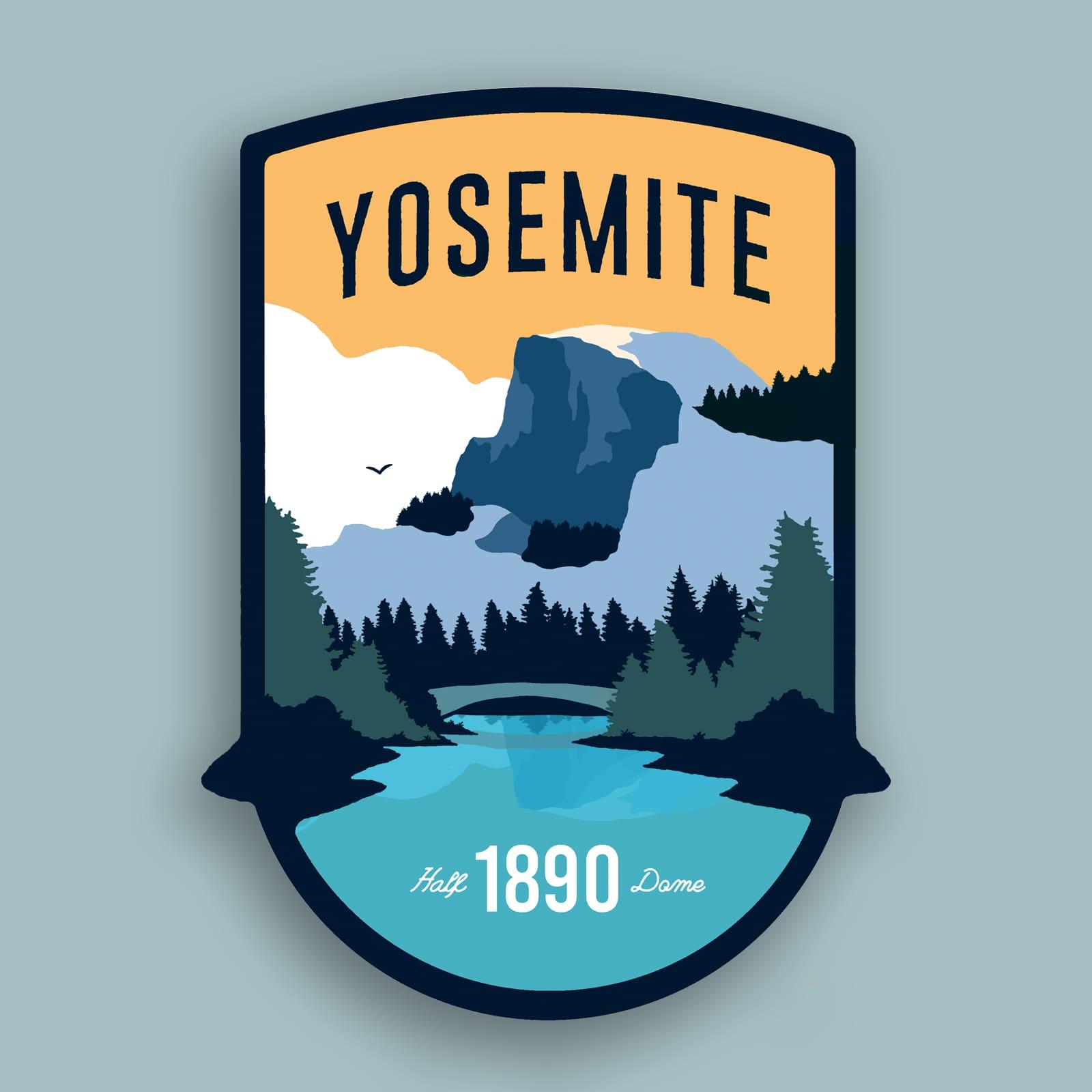 Yosemite National Park (Half Dome)